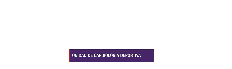 Unidad de Cardiología deportiva